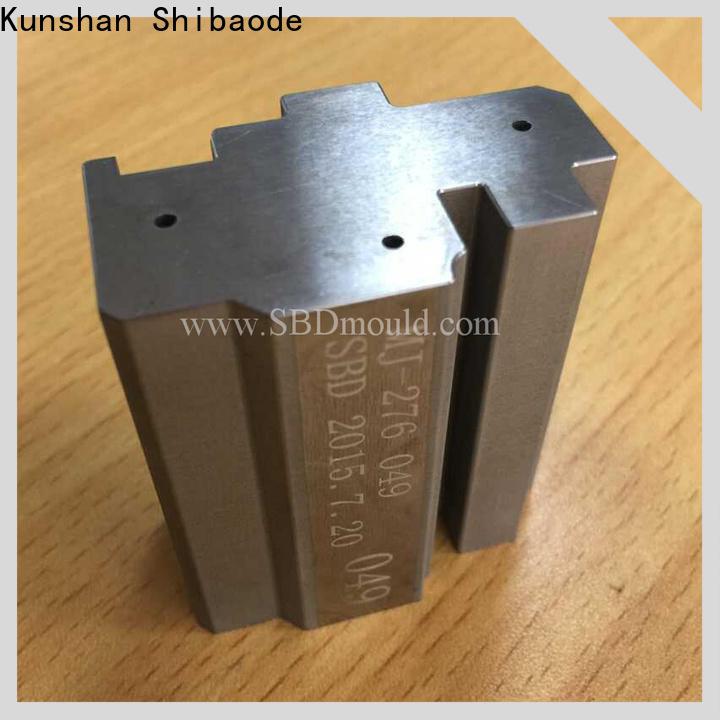 SBD Custom wire edm parts company for high precision machine