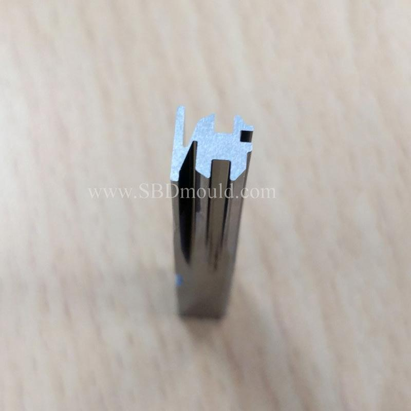 Tungsten carbide punch make any shape according to drawing design