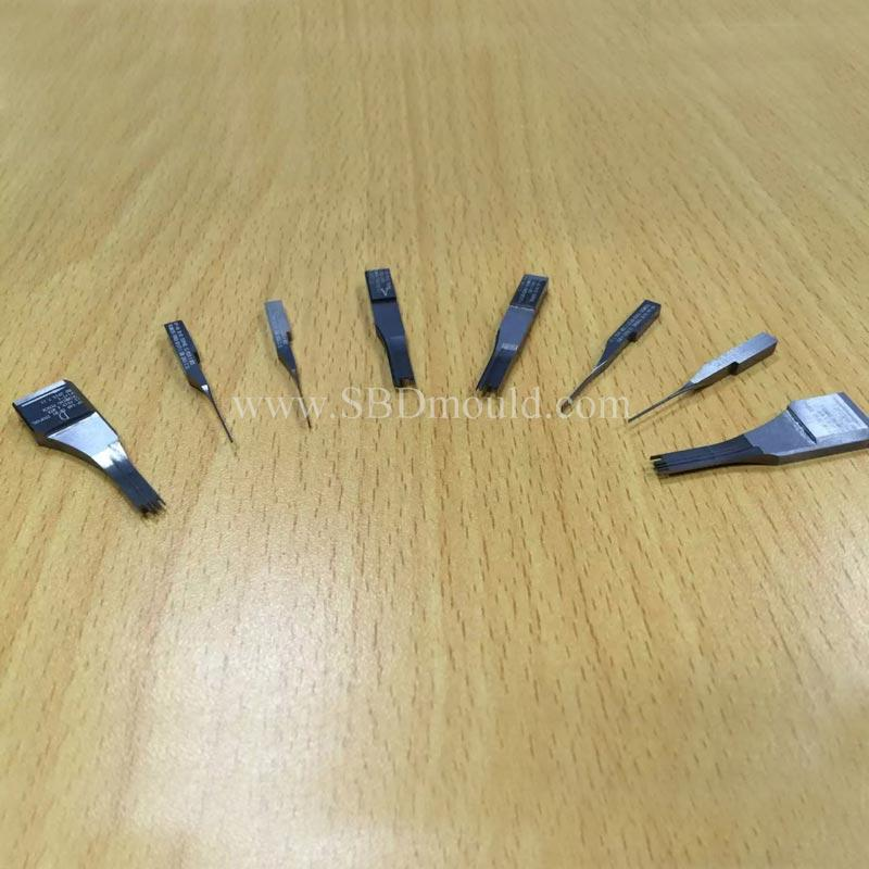 Well finished high speed steel and tungsten punch parts